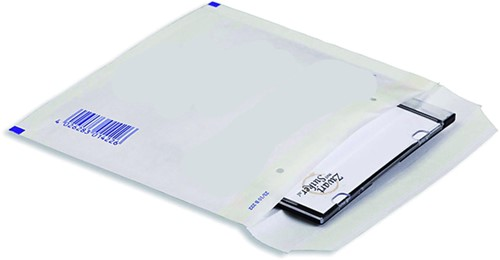 CD envelop Quantore luchtkussen 175x200mm wit 5stuks-1