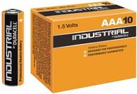 Batterij Industrial AAA alkaline doos à 10 stuks