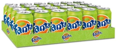 Frisdrank Fanta Lemon blikje 0.33l-2