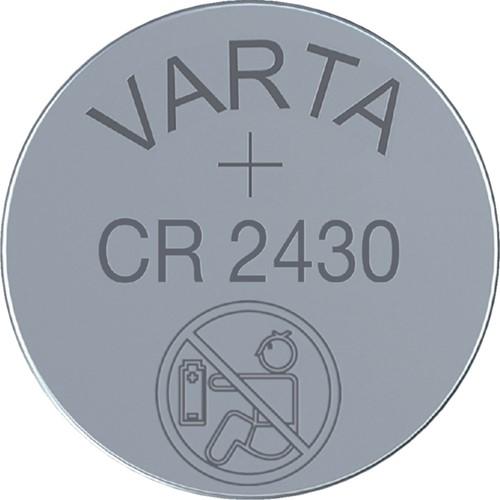 Batterij Varta knoopcel CR2430 lithium blister à 2stuk-2