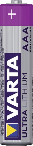 Batterij Varta Ultra lithium 4xAAA-2
