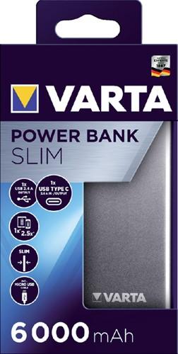 Powerpack Varta 6000mAh aluminium