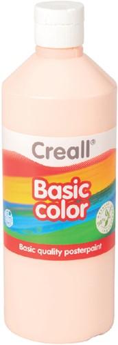 Plakkaatverf Creall basic 24 licht roze 500ml