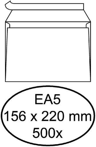 Envelop Quantore bank EA5 156x220mm zelfklevend wit 500stuks