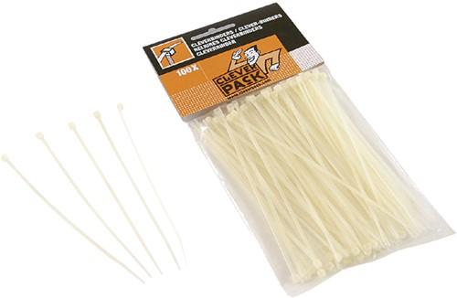 Inbindstrip CleverPack cleverbinder kabel 10/20cm wit-2