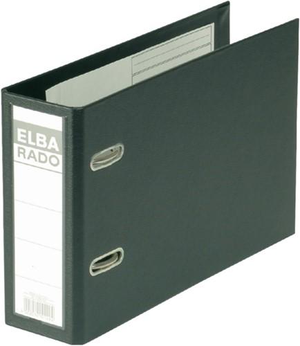 Ordner Elba Rado Plast A5 dwars 75mm pvc zwart