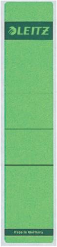 Rugetiket Leitz smal/kort 39x192mm zelfklevend groen