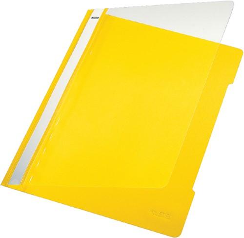Snelhechter Leitz 4191 A4 PVC geel
