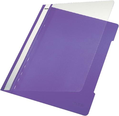 Snelhechter Leitz 4191 A4 PVC violet