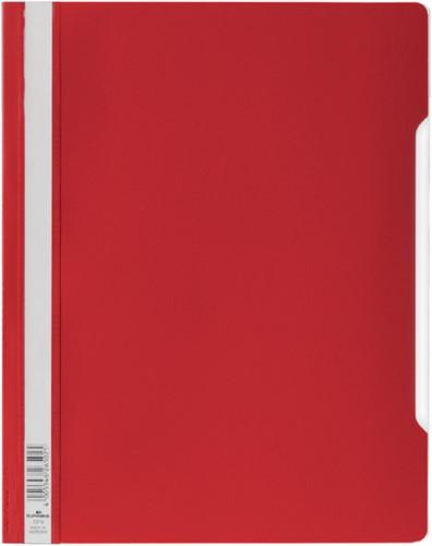Snelhechter Durable 2570 A4 PVC rood