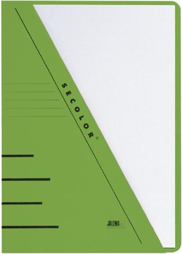 Insteekmap Jalema Secolor A4 270gr groen