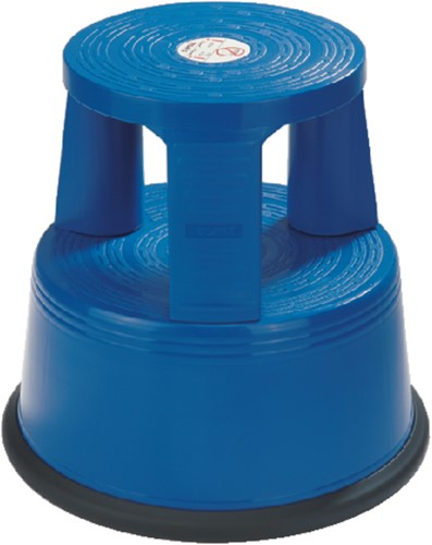 Opstapkruk Desq 42cm kunststof blauw