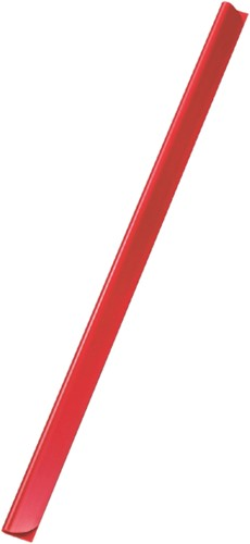 Klemrug Durable A4 5/6mm rood