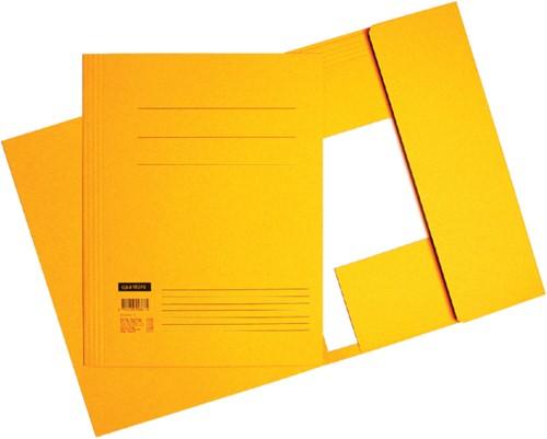 Dossiermap Quantore Folio 320gr geel