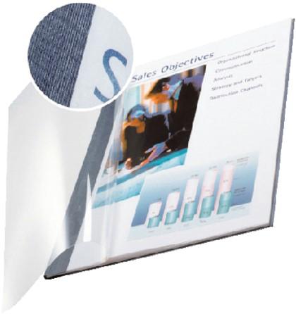 Inbindomslag Leitz 7mm zachte kaft blauw