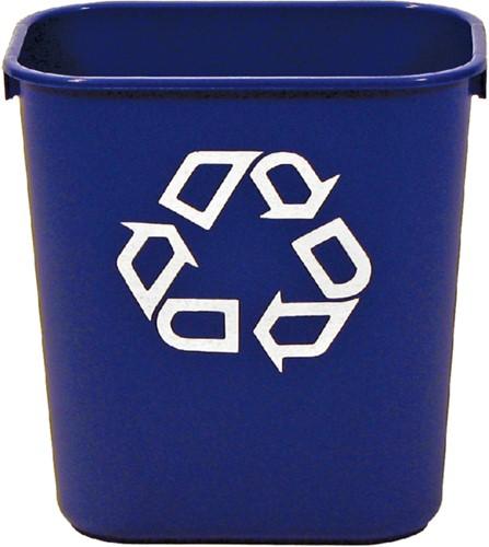 Afvalbak blauw 26liter-2