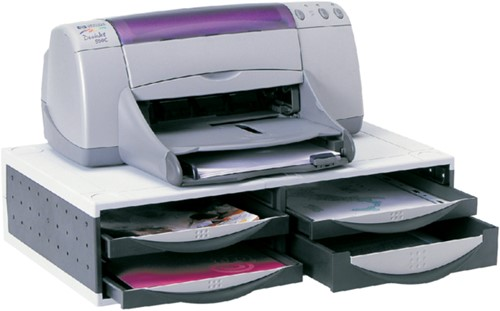Printerstandaard Fellowes 24004 545x370x145mm grijs