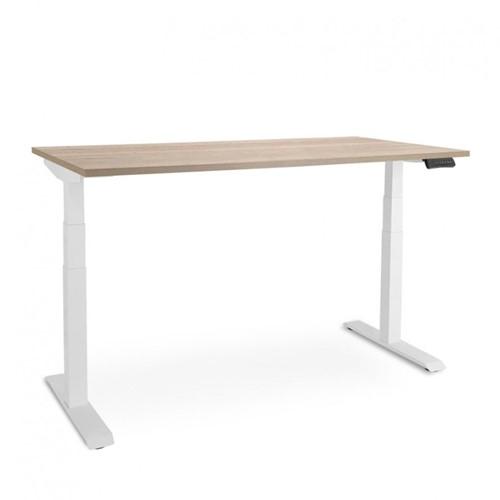 Elektrisch verstelbaar zit/sta bureau ARBO Afm. 160 x 80 cm