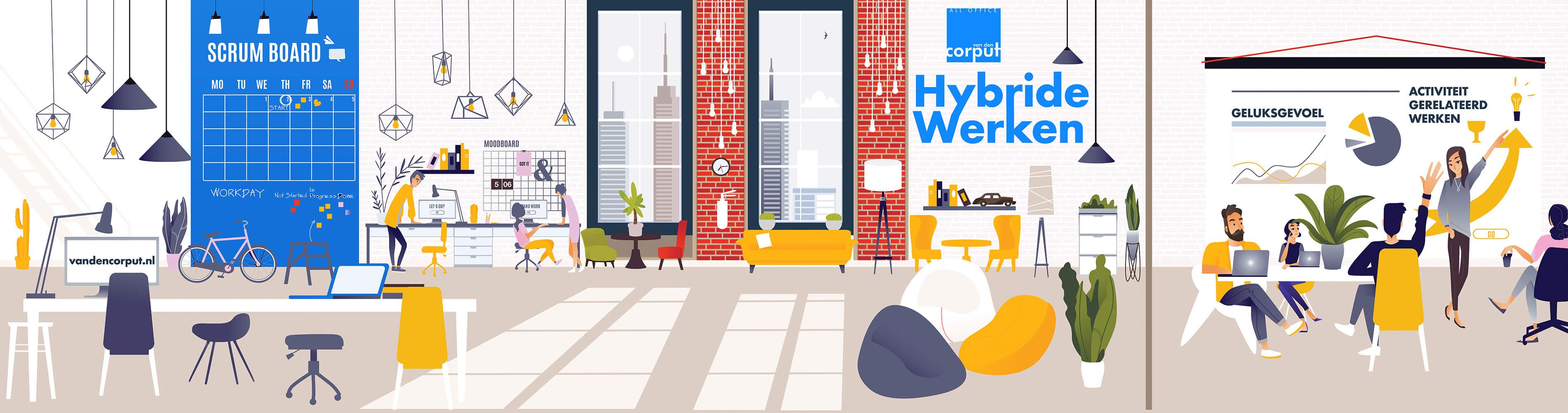 Hybride werken