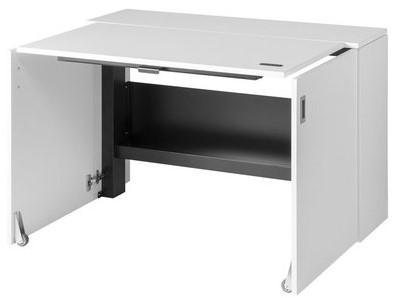 Elektrisch verstelbaar zit/sta bureau HomeFit© - Wit